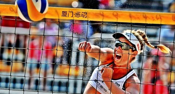 april ross beach volleyball player blog