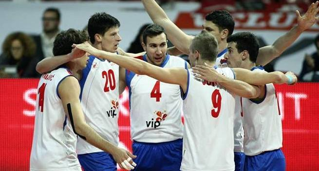 serbia volleyball team