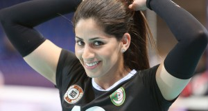 Fatma Okazi best algerian volleyball player