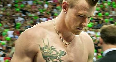 ivan zaytsev hot and shirtless volleyball player