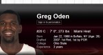 greg oden basketball player volleyball