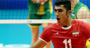 Mojtaba Mirzajanpour iranian volleyball player 2