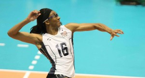 foluke akinradewo best usa middle blocker volleyball player