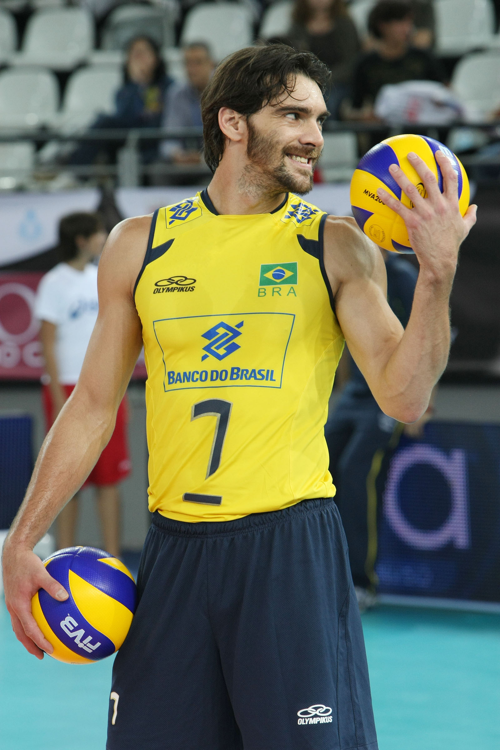 GIBA best brazilian volleyball player