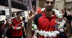 iran volleyball player seyed mousavi