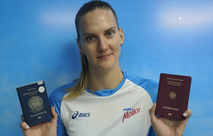 Mari Steinbrecher Brazil Volleyball Player