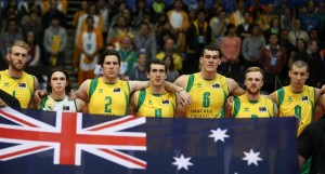FIVB Volleyball World Tour 2014 - Australia v France