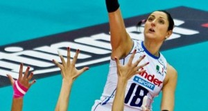 Carolina Costagrande, Francesca Piccinini, Lucia Bosetti, Italian Volleyball Team