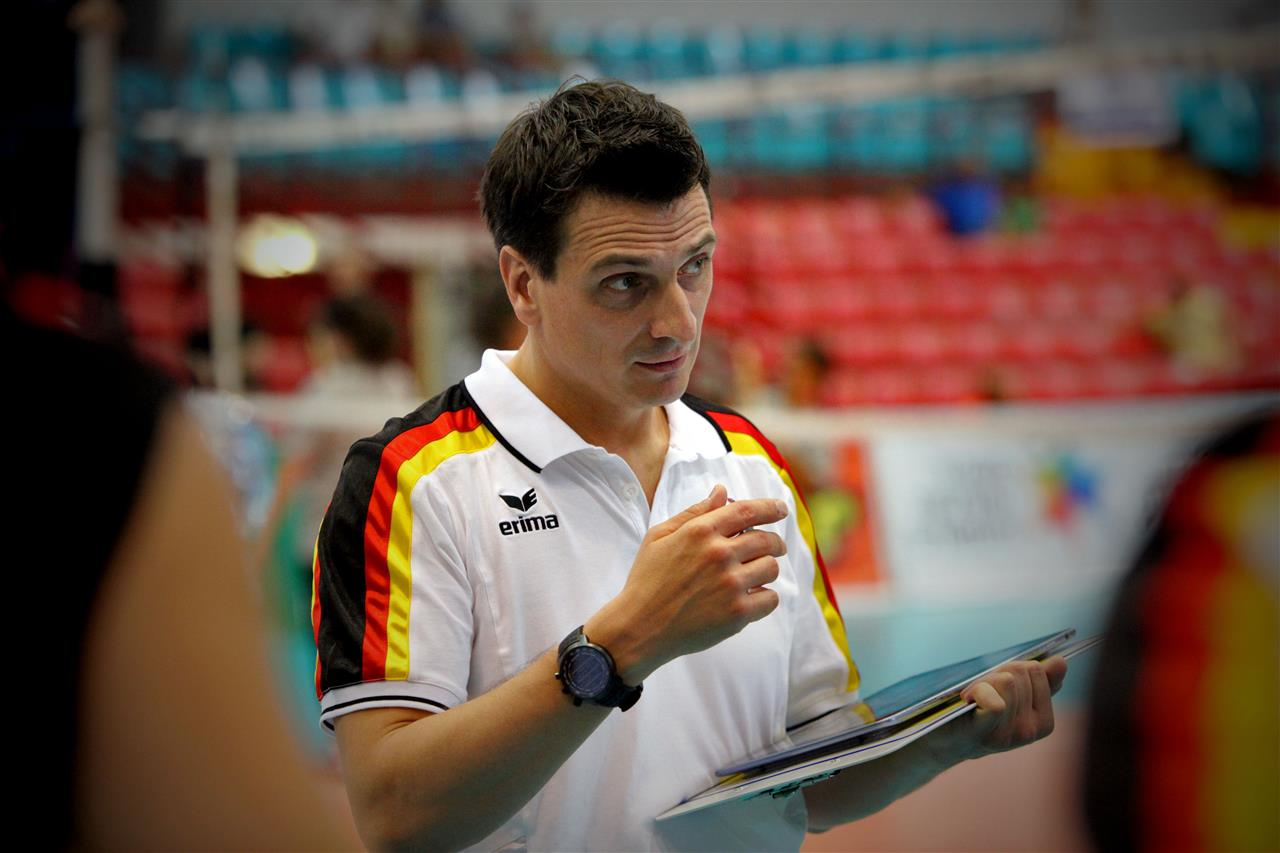 Coach Giovanni Guidetti Germany Best Volleyball Coach
