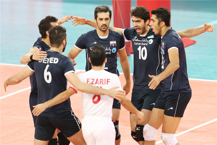 THE FINAL ROUND of the 2014 FIVB Men's World Championship