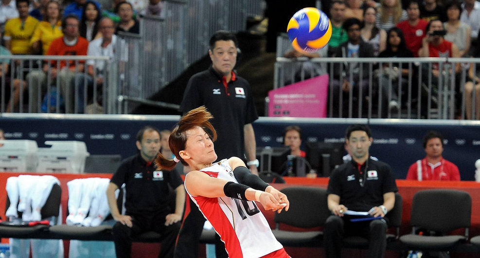 yuko sano best volleyball libero japan