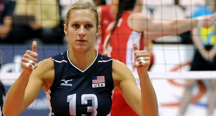 christa harmotto usa volleyball player