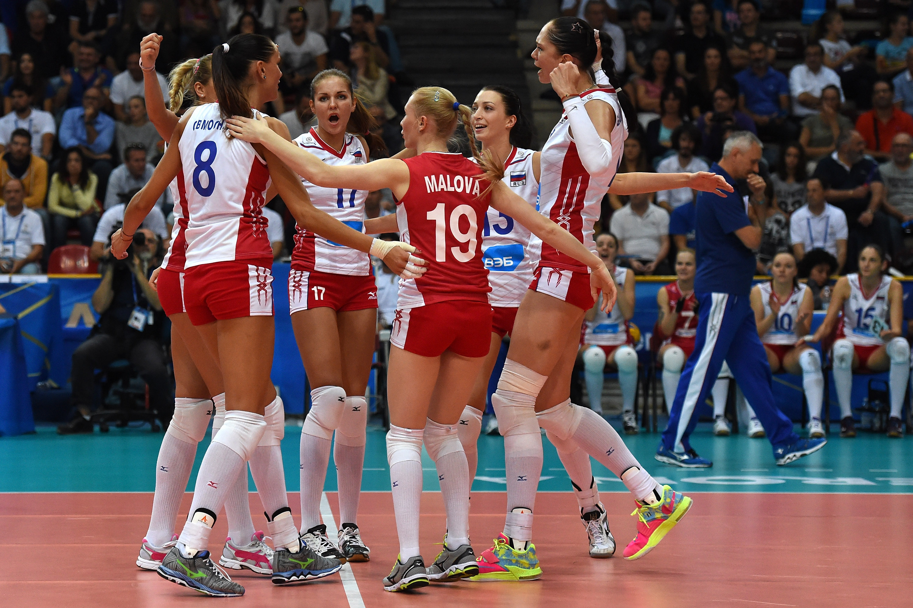 THE FINAL ROUND of the 2014 FIVB Women's World Championship