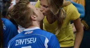 ivan zaytsev hot italian volleyball player wife