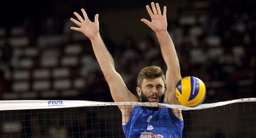 Image result for volleyball touching the net
