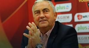 Poland Volleyball Federation President Miroslaw Przedpelski