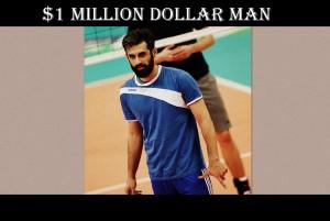 best iranian volleyball player Mir Saied Marouf Lakrani