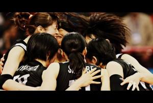 Team Japan celebrate