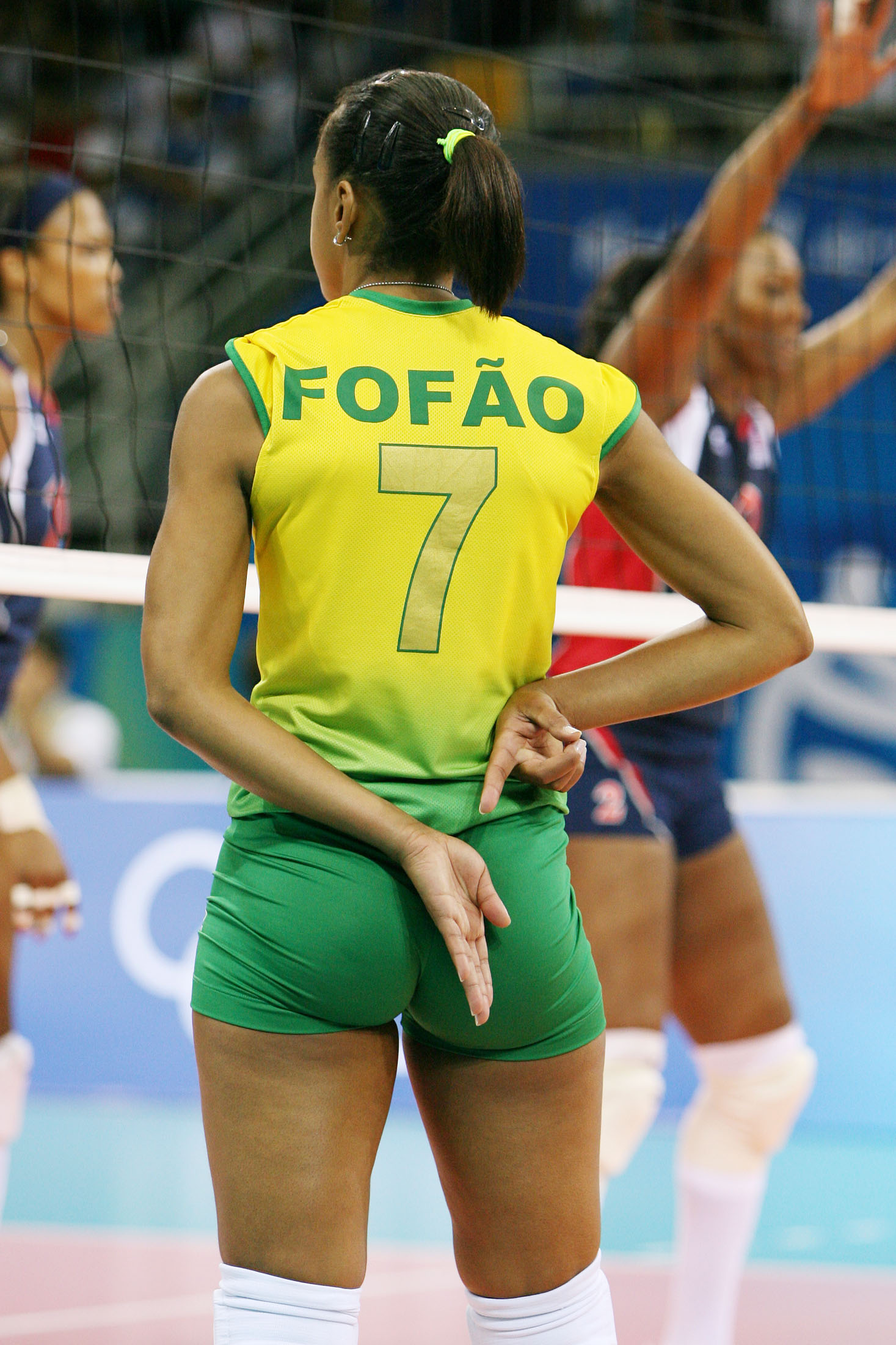 Brazil Helia Rogerio De Souza Aka Fofao Best Volleyball Setter