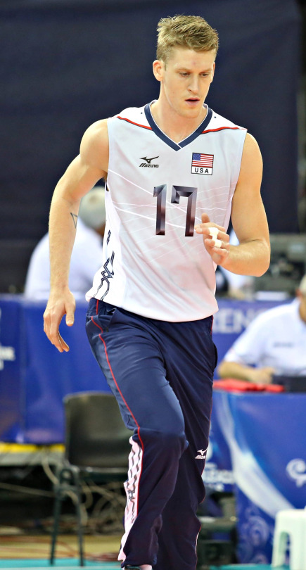 Max Holt volleyball age