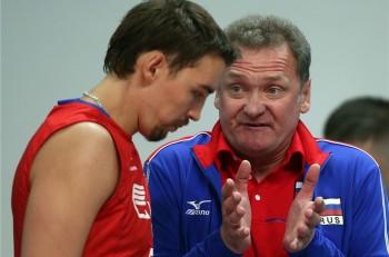russia volleyball coach Andrey Voronkov 2