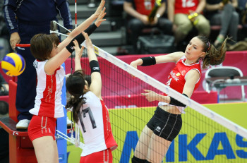 Eda Erdem Dündar Best Middle Blocker Turkey