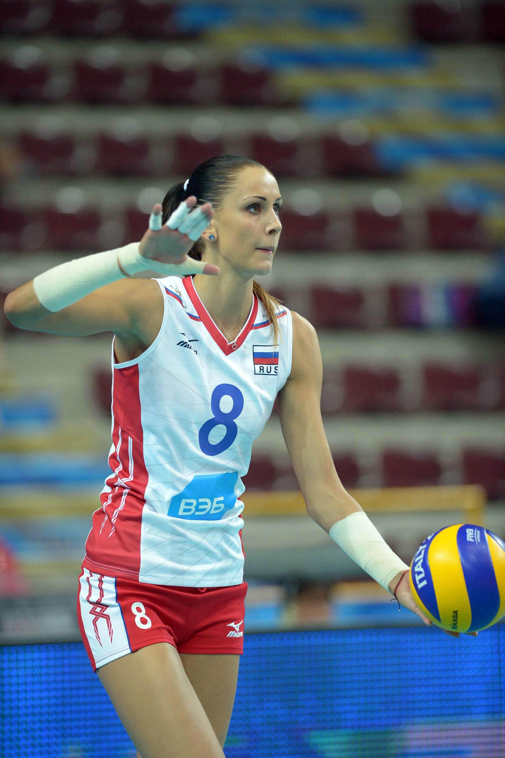 Nataliya Goncharova (volleyball) Russian Volleyball Player Nataliya Goncharova Obmochaeva