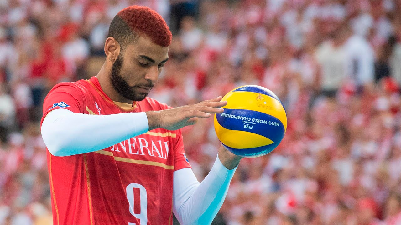 Earvin Ngapeth The Coolest Volleyball Hairstyle