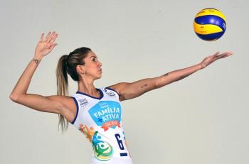 Thaisa Menezes Best Volleyball Player Middle Blocker
