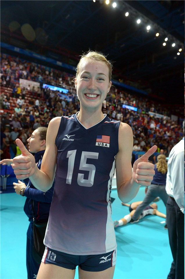 Kim Hill volleyball player