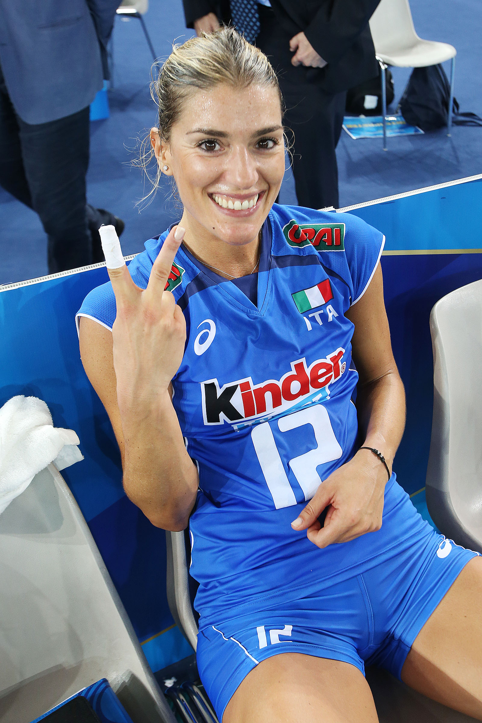 Remarkable, Volleyball player francesca piccinini amusing topic