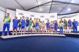 2016 brazilian volleyball uniforms and jerseys