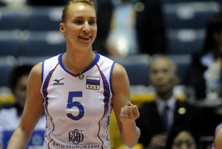 lioubov sokolova best volleyball player russia