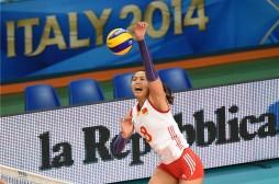 zeng chunlei best volleyball player china